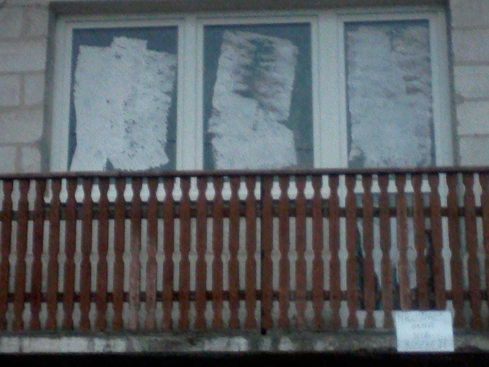 Niesamowite Nie zanika tradycja malowania okien w środopoście : Lublin112.pl XV06