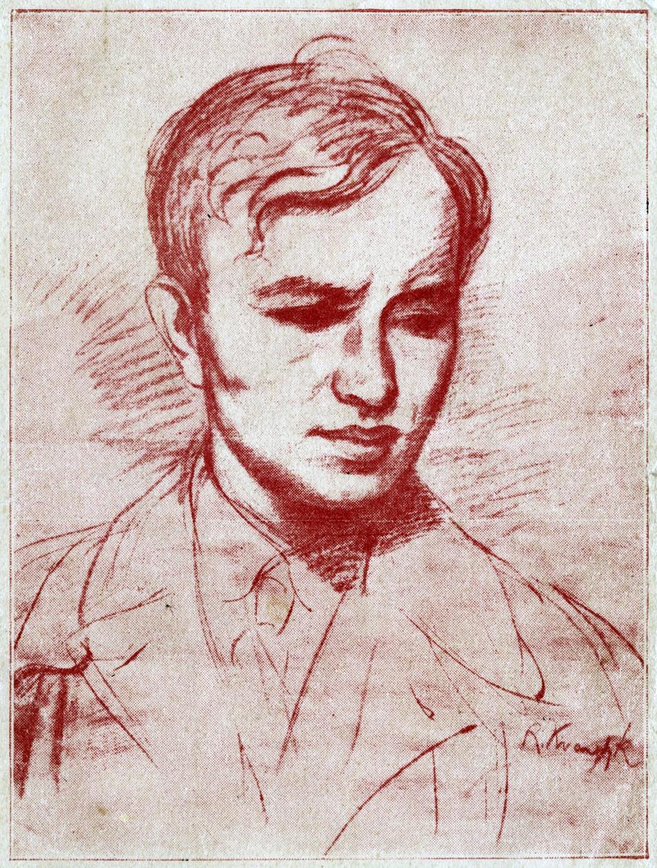 Roman_Kramsztyk_-_Portret_Józefa_Czechowicza