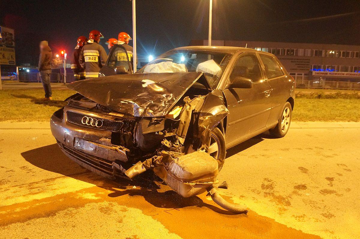 Kierowca Audi Który Doprowadził Do Wypadku Był Pijany Uciekając