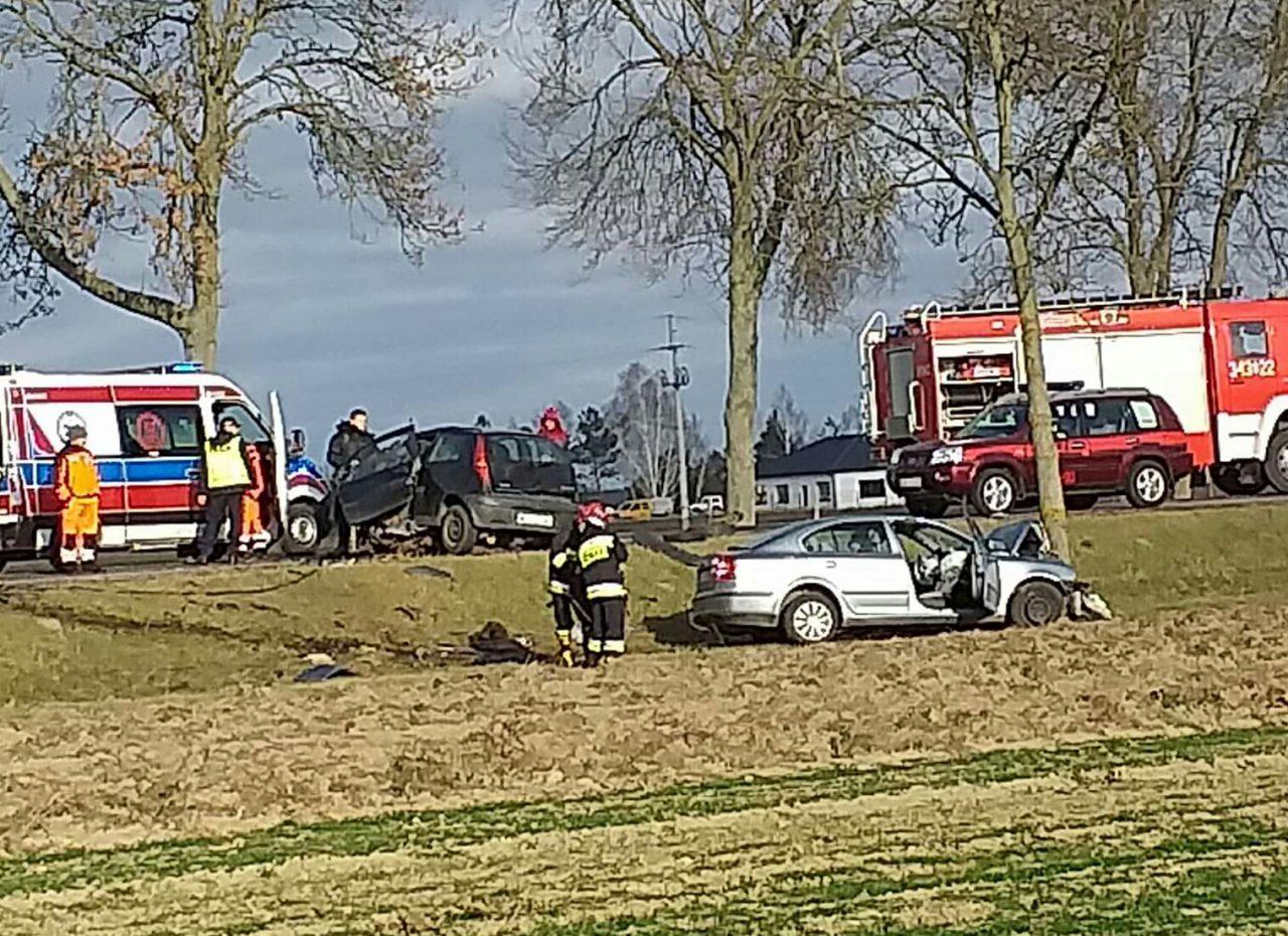 Topnotch Wypadek na krajowej 2. Trasa Biała Podlaska – Międzyrzec Podlaski AG07
